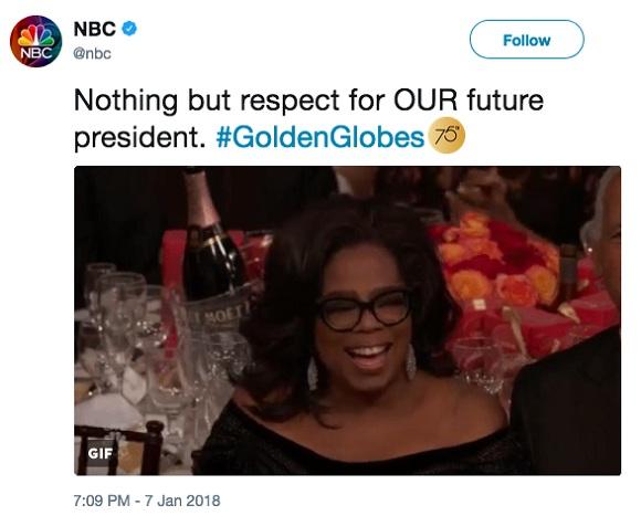 美國第一位女總統會是……脫口秀女王奧普拉嗎?