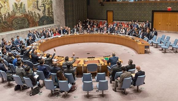 聯合國安理會一致通過敘利亞全境停火至少30天的決議