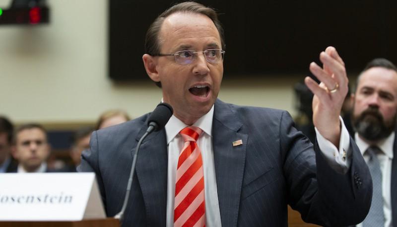 美司法部副部長因密謀彈劾位子不保?川普:還有得商量