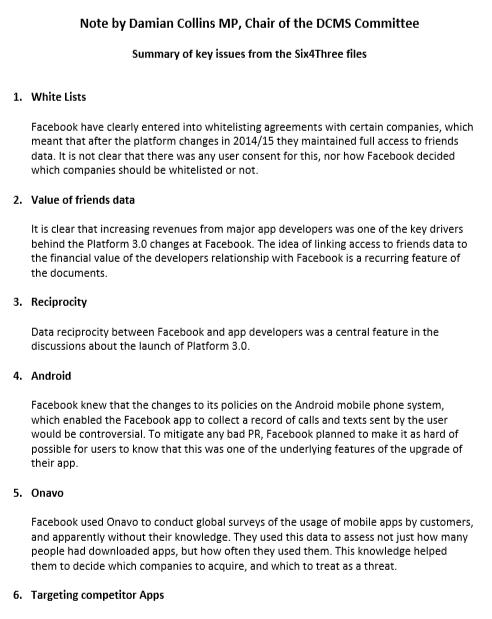 英議會曝光臉書內部郵件:他們這樣悶聲採集安卓用戶信息