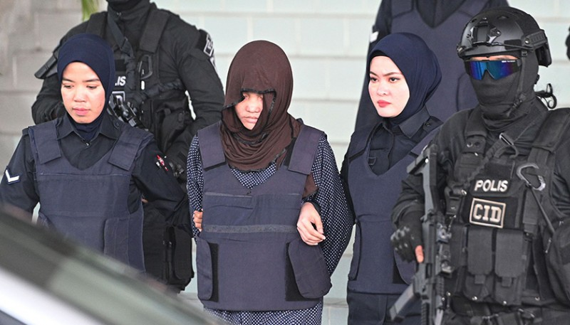 印尼嫌犯獲釋后,馬來西亞拒絕撤回對金正男案越南籍被告的指控