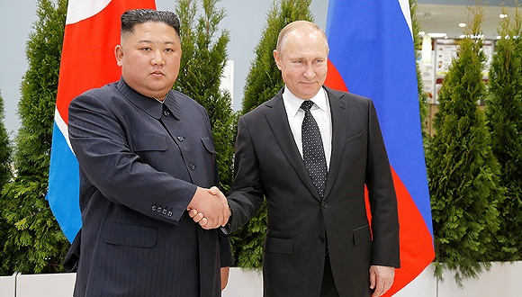 金正恩向普京致國慶賀電:4月初次相見,掀開朝俄友誼新歷史