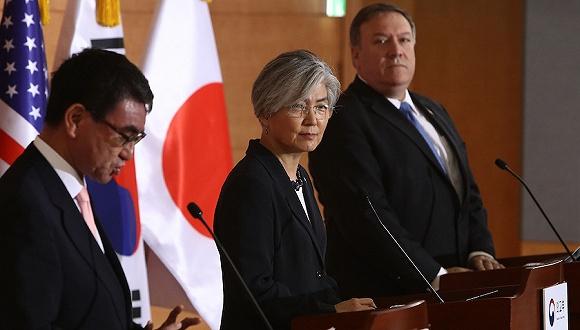 韓國多路人馬赴美商討日本出口管制解法:日方對三邊磋商態度消極