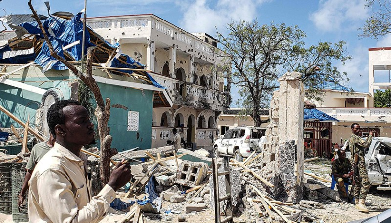 索馬利亞酒店遇襲后青年黨恐捲土重來,兩名受傷中國人無生命危險